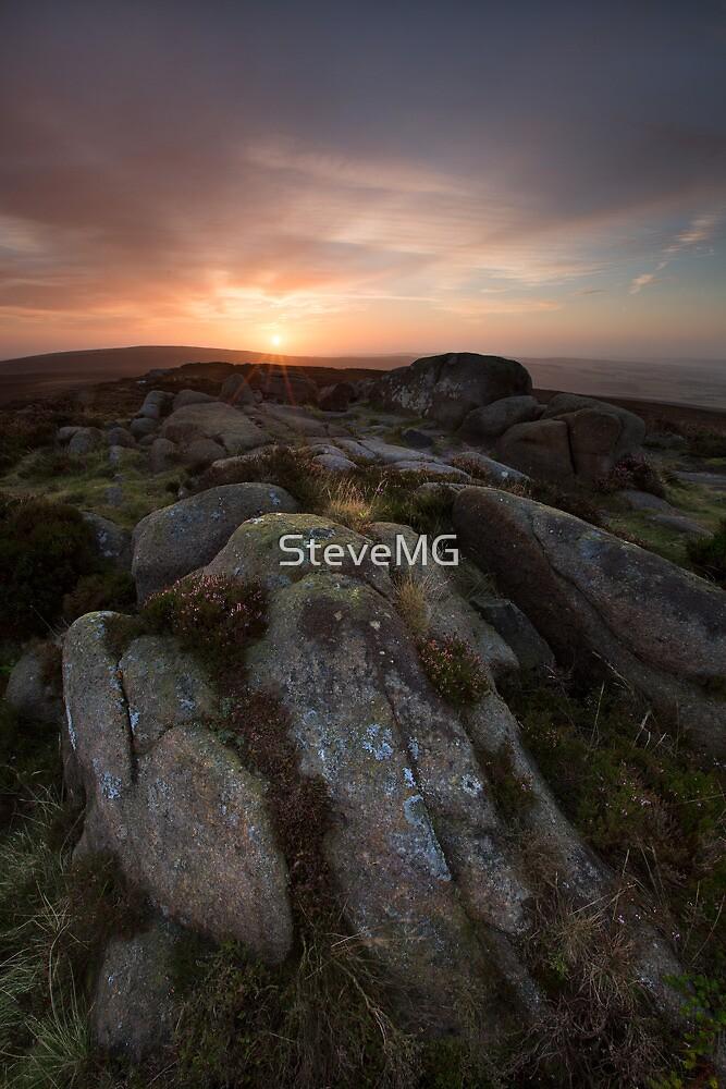 Beamsley Beacon Sunrise by SteveMG