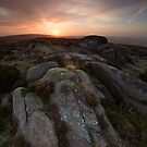 Beamsley Beacon Sunrise by SteveMG