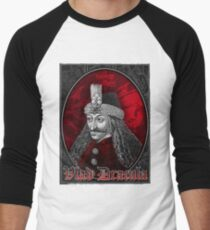 Vlad Dracula Gothic Men's Baseball ¾ T-Shirt