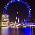 Eye on the Thames by Llewellyn Cass