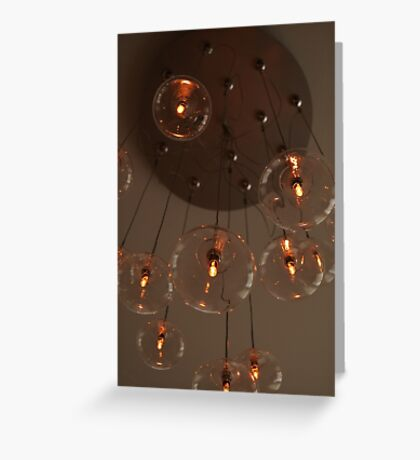 The Light Fixture Greeting Card