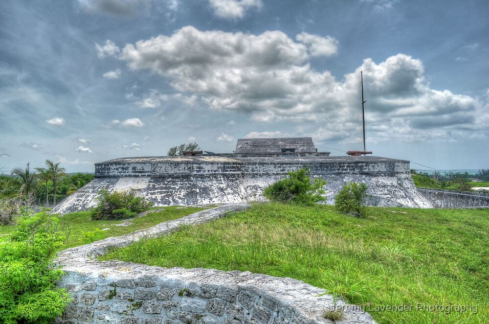 fort charlotte in nassau the bahamas by jeremy