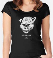 ManBearPig - Rack Run Ruin Women's Fitted Scoop T-Shirt