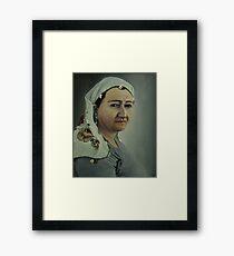 My mom Framed Print