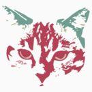 Celeste the cat by dalgius