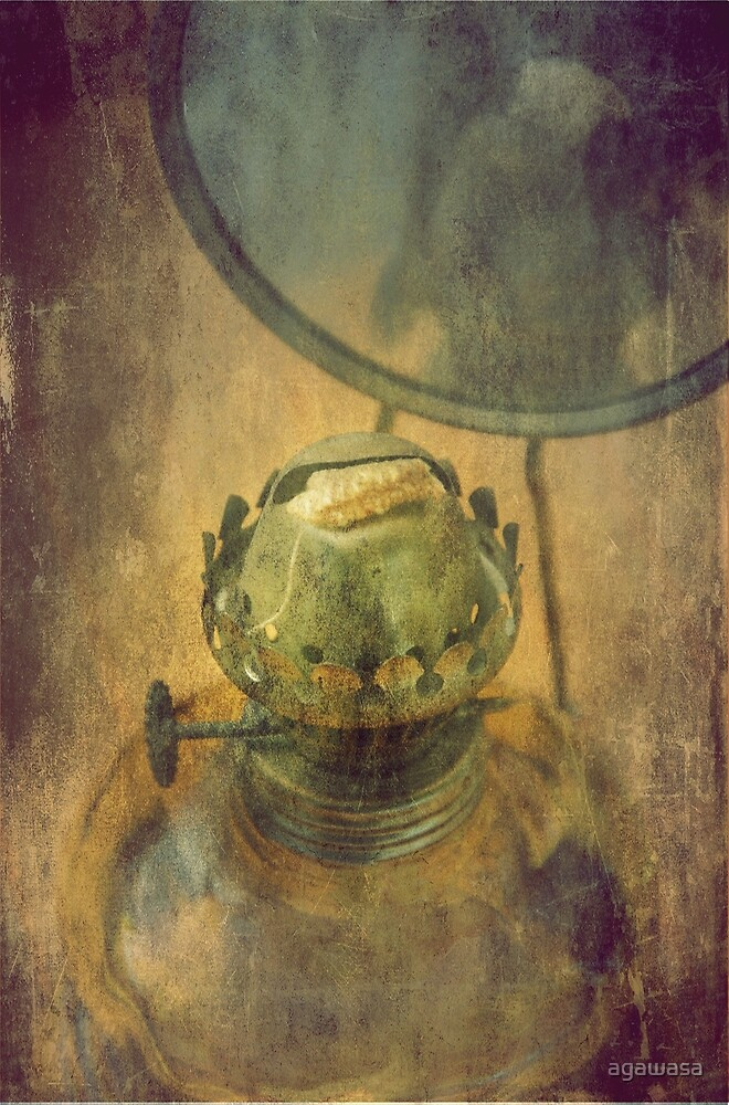 old lamp by agawasa