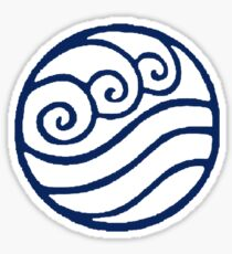 Water Tribe Symbol Sticker