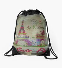 Je Suis Paris ~ 11/13/2015 Drawstring Bag