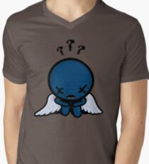 The Binding of Isaac - ??? (Blue Baby) Minimal Men's V-Neck T-Shirt