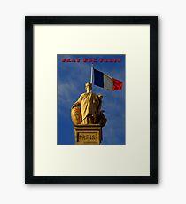 Pray For Paris ~ 11/13/2015 Framed Print