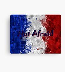 Not Afraid ~ 11/13/2015 Canvas Print