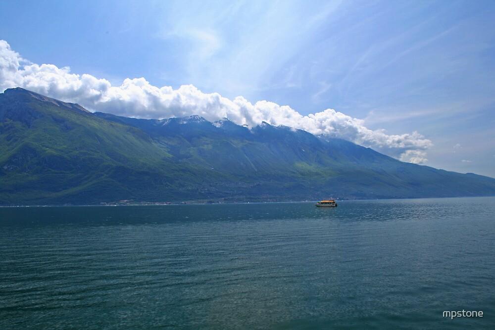 Blanket Of Clouds overlooking lake Garda  by mpstone