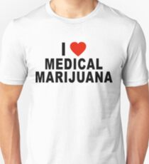 I Love Medical Marijuana T-Shirt