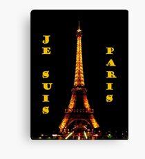 Je Suis Paris ~ 11/13/2015 Canvas Print