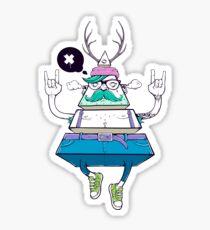 Dreieck Hipsta Sticker