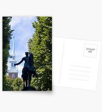 Paul Revere Postcards