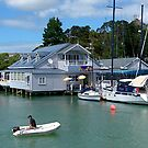 The old shop and cafe at Opua, Bay of Islands, NZ.....! by Roy  Massicks