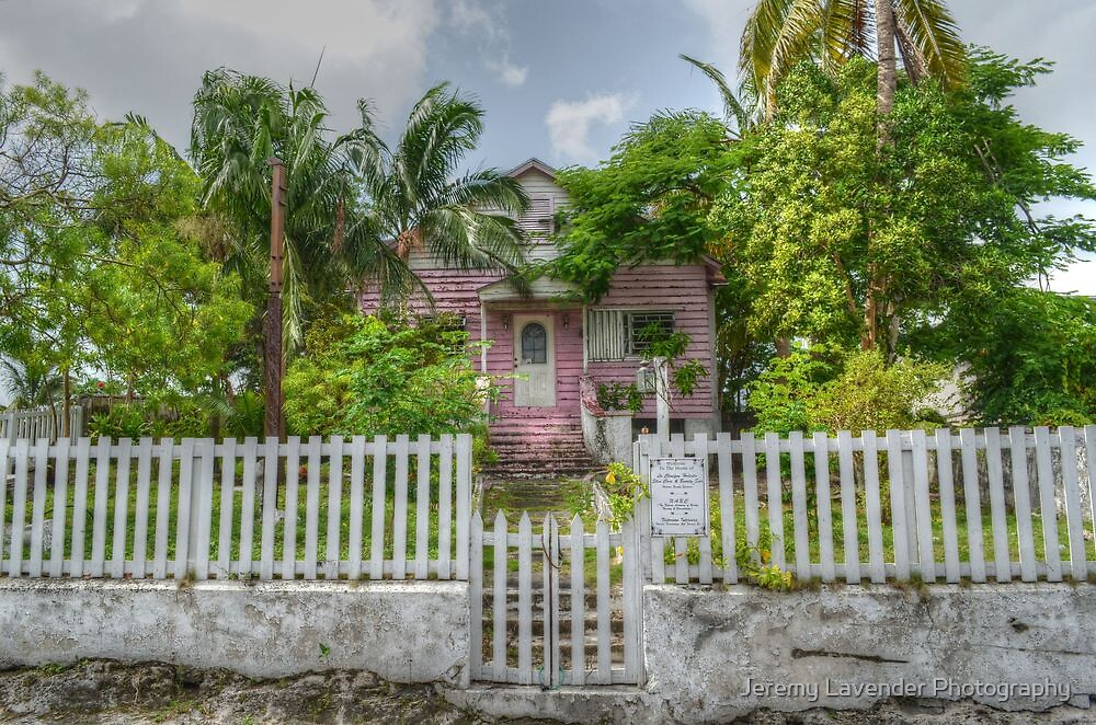 Old House in Nassau, The Bahamas by Jeremy Lavender Photography