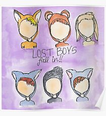 Lost Boys- Fall In! Poster