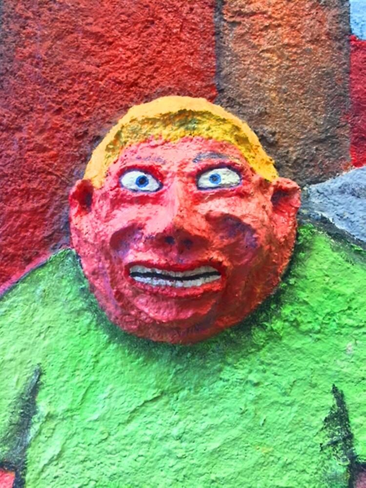 BIG 3D FACE by paulvolker