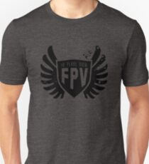 In plane view Unisex T-Shirt