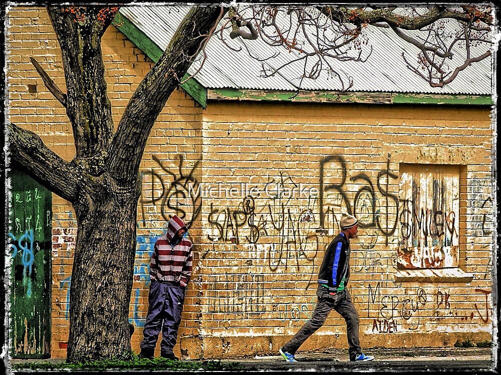 Walk on by by Michelle Clarke