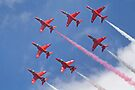 Top Pass - Red Arrows - Dunsfold 2012 by Colin  Williams Photography