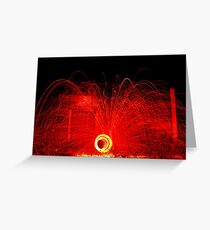Wirewool Spinning Greeting Card