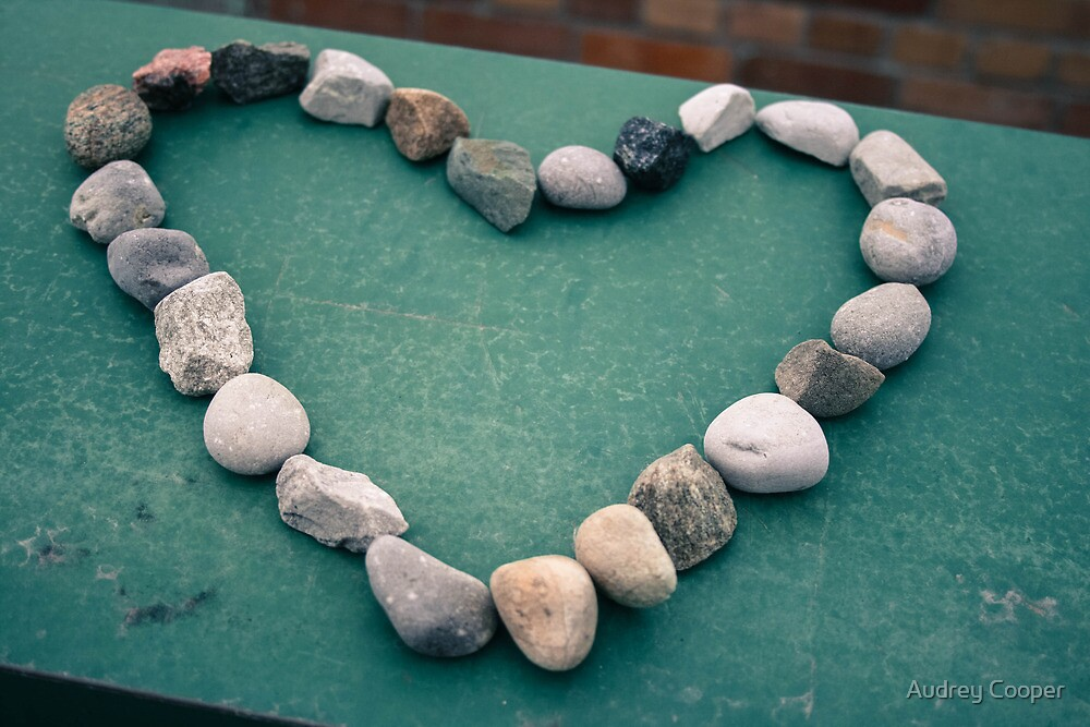 Love stones by Audrey Cooper