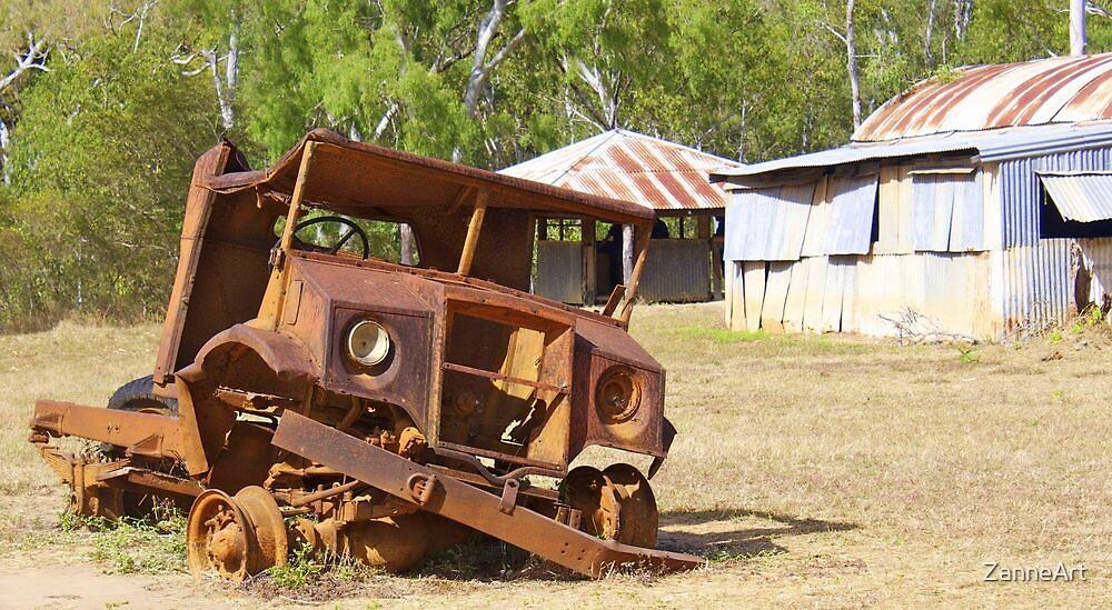 Old Blitz Wagon by ZanneArt