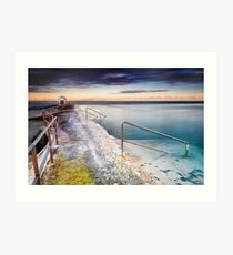 Merewether Ocean Baths Art Print
