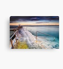 Merewether Ocean Baths Canvas Print