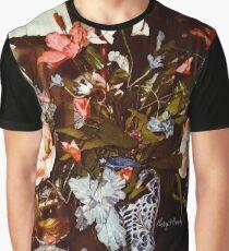 """""""Blue Bearded Irises Delft-ish Vase"""" Graphic T-Shirt"""
