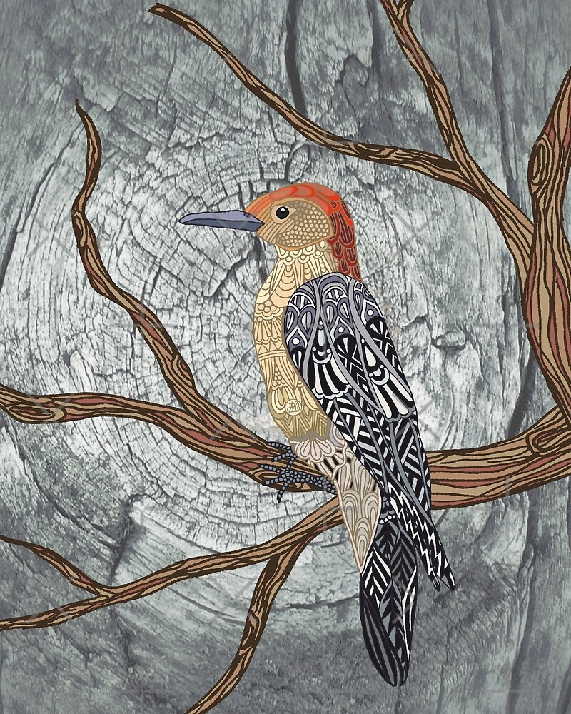 Woodpecker by artlovepassion