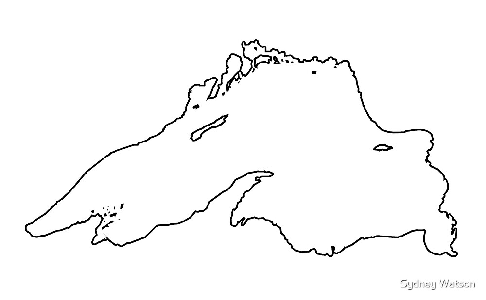 michigan great lakes coloring pages - photo#24