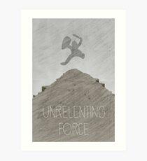 Tamriel Shout - Unrelenting Force Art Print