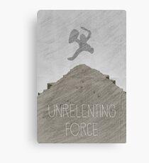 Tamriel Shout - Unrelenting Force Canvas Print