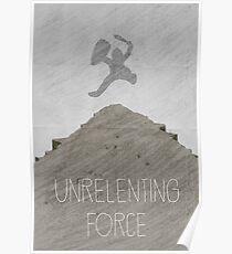 Tamriel Shout - Unrelenting Force Poster