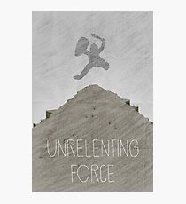 Tamriel Shout - Unrelenting Force Photographic Print