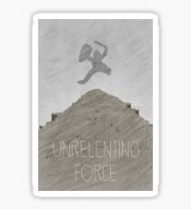 Tamriel Shout - Unrelenting Force Sticker