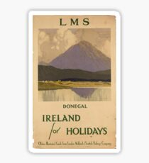 Vintage poster - Ireland Sticker