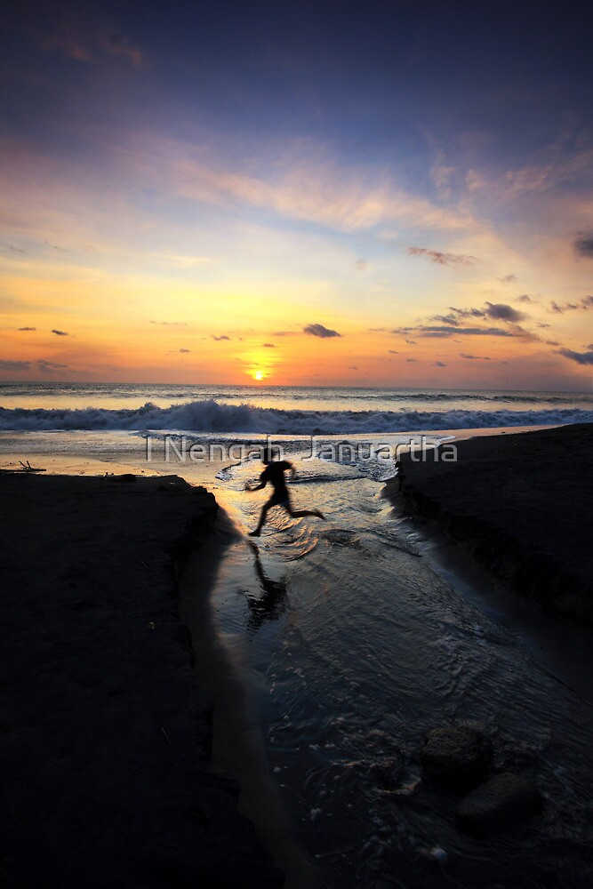 The Runner by I Nengah  Januartha