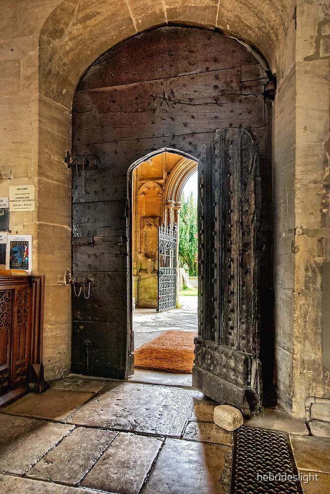 Fairford Through The Door by hebrideslight