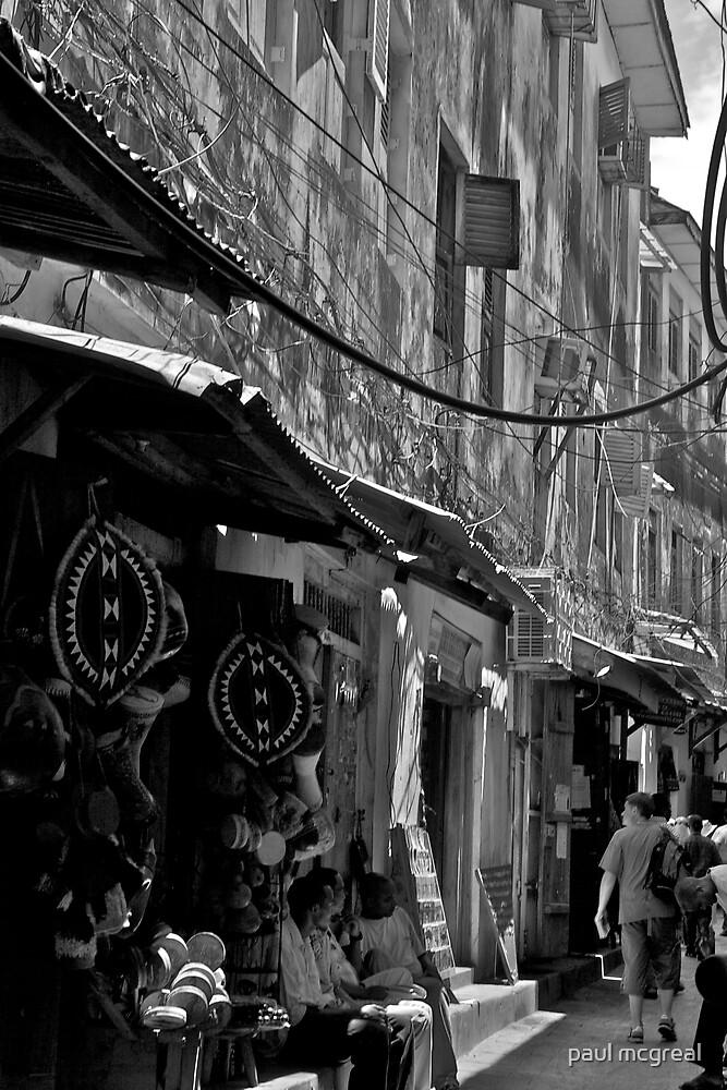 stone town, zanzibar by paul mcgreal