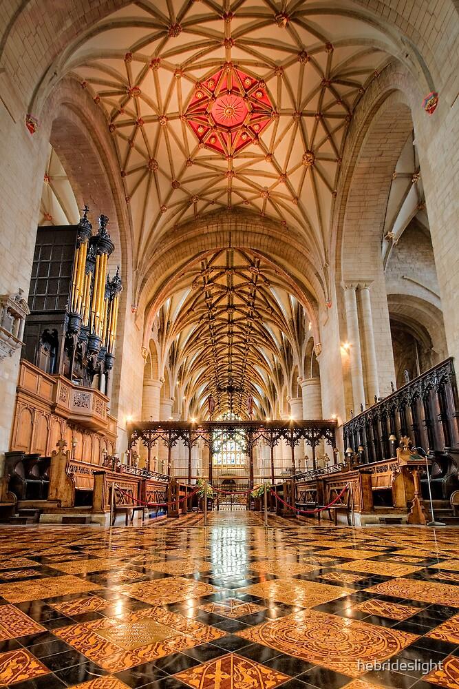 Tewkesbury Abbey Floor to Ceiling by hebrideslight