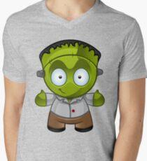 Frankenstein Monster Boy Smiling T-Shirt