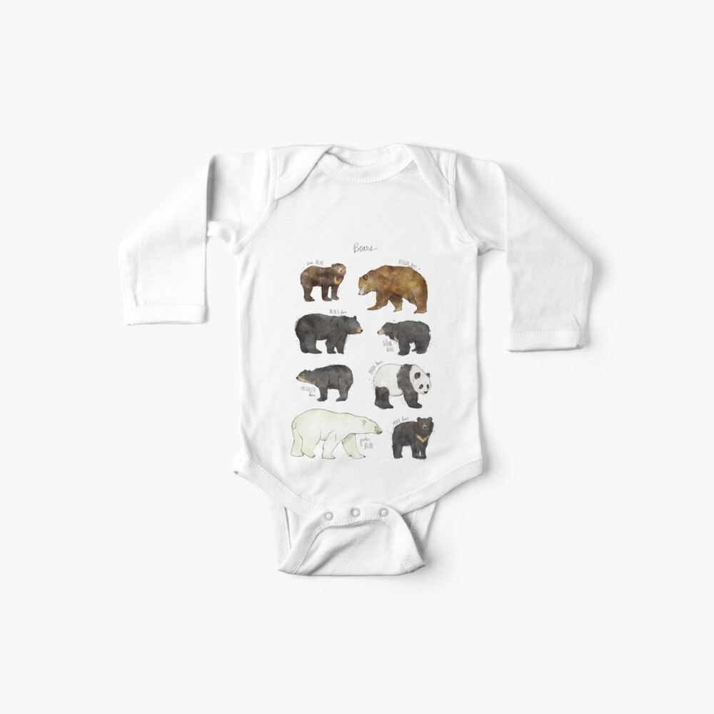 Bären Baby Body