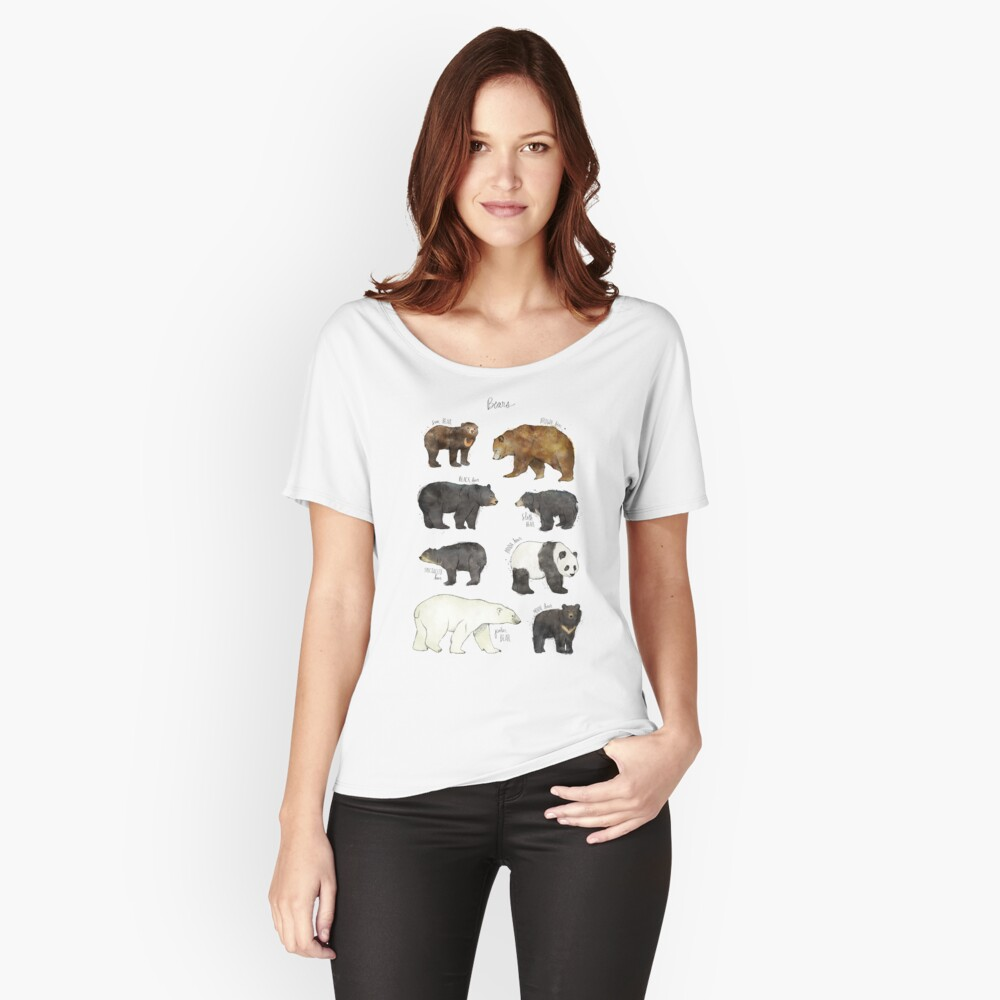 Bears Women's Relaxed Fit T-Shirt Front