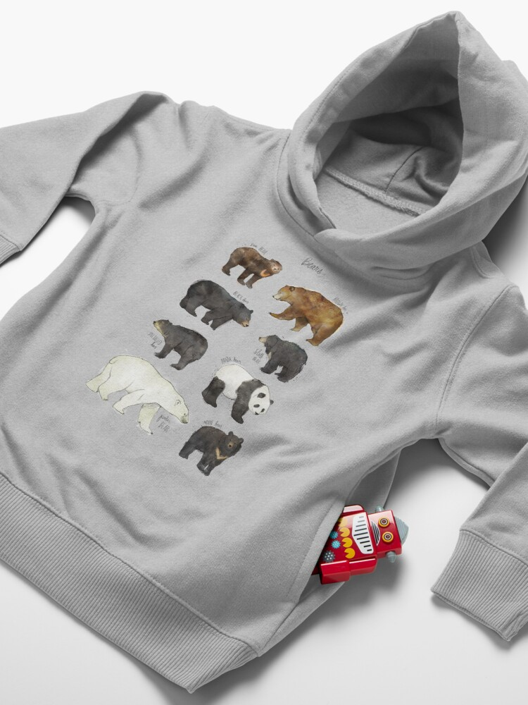 Alternate view of Bears Toddler Pullover Hoodie