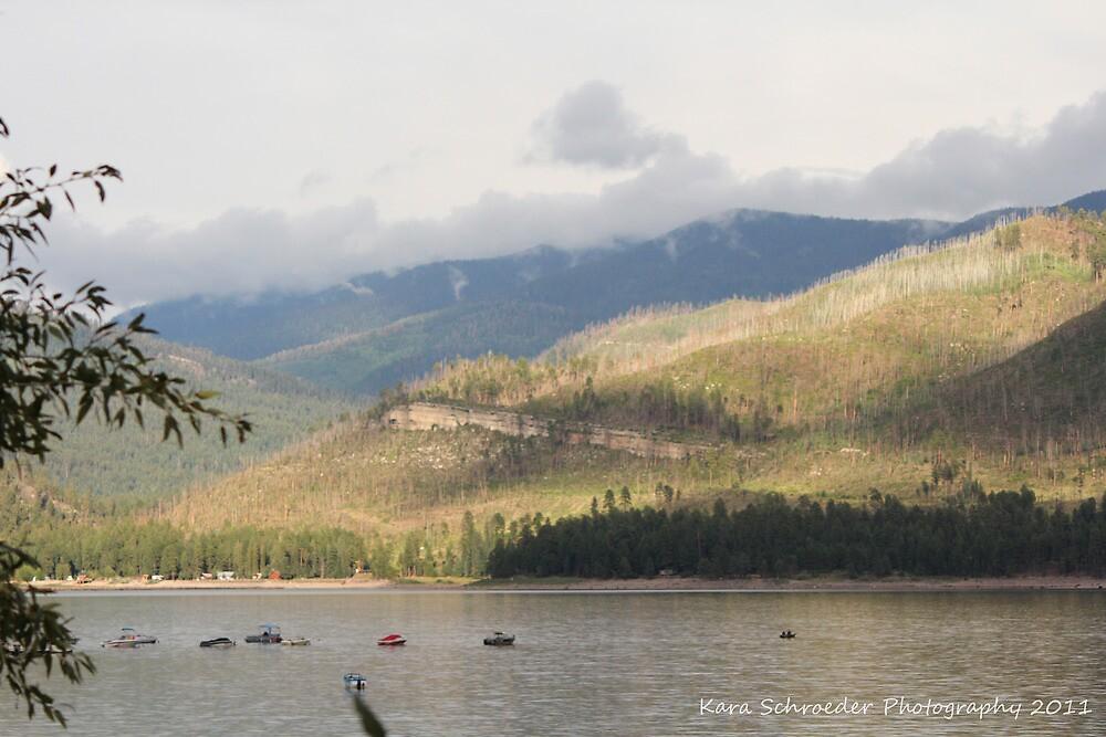 Lake Vallecito Reservoir, Colorado by DressageFan1